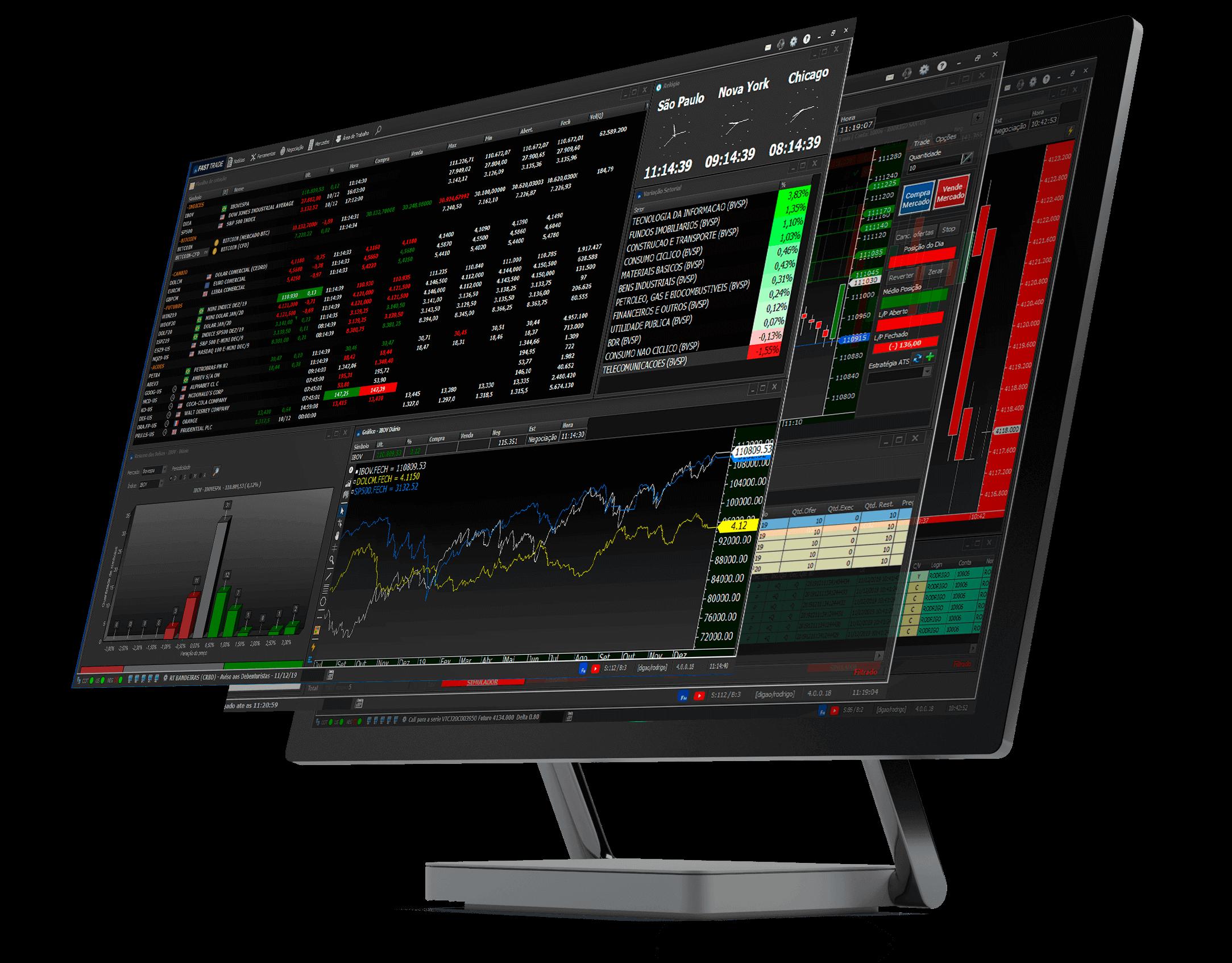 Fast Trade versão Desktop