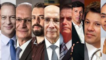 Bolsonaro chega a 41% dos votos válidos; Fernando Haddad (PT) tem 25%; diz Ibope